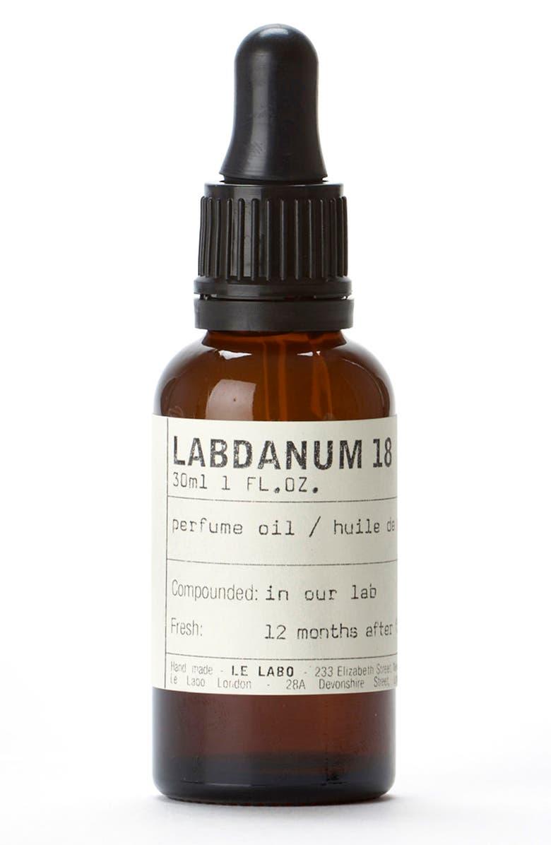 LE LABO 'Labdanum 18' Perfume Oil, Main, color, NO COLOR