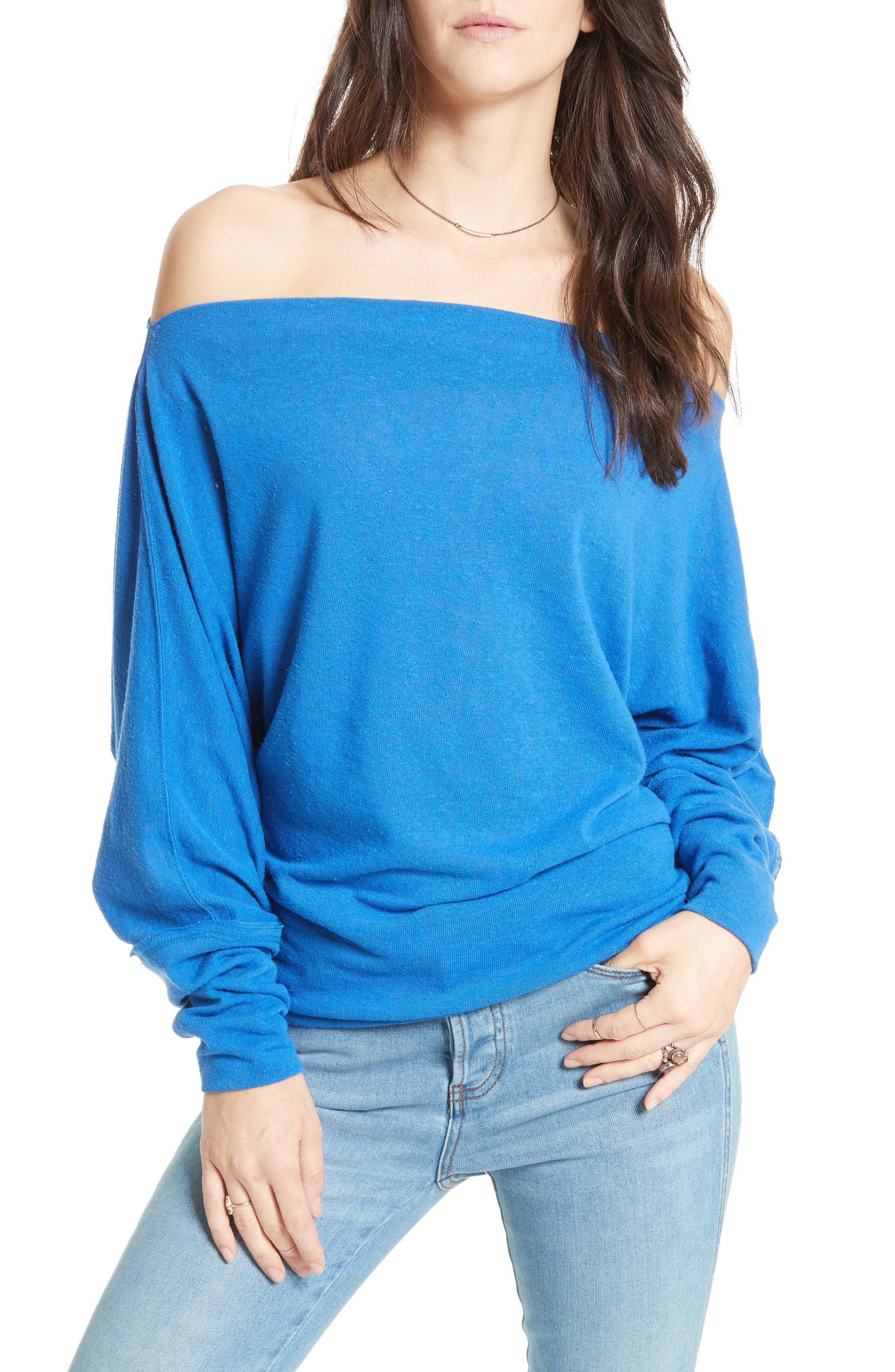 ,                             Valencia Off the Shoulder Pullover,                             Main thumbnail 30, color,                             400
