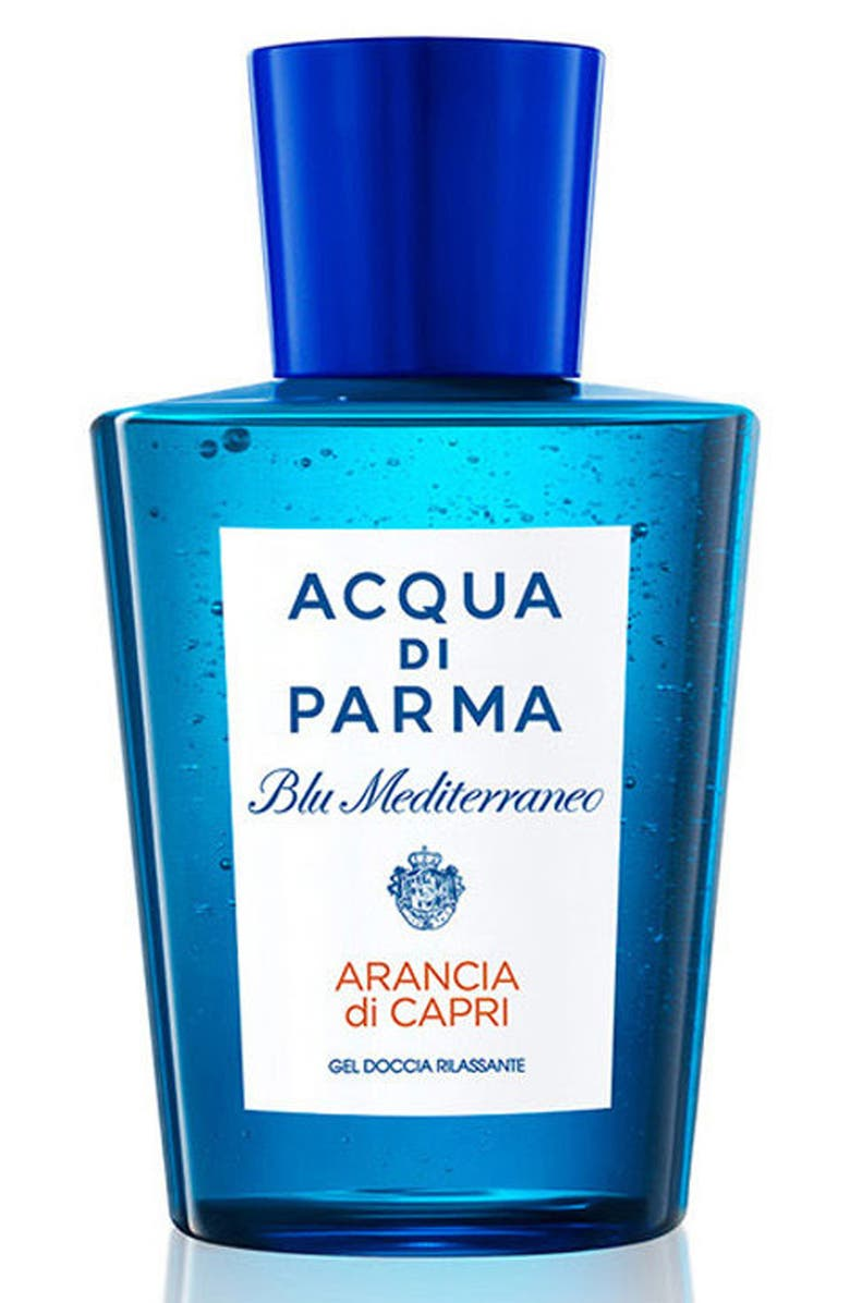 ACQUA DI PARMA 'Blu Mediterraneo - Arancia di Capri' Shower Gel, Main, color, NO COLOR