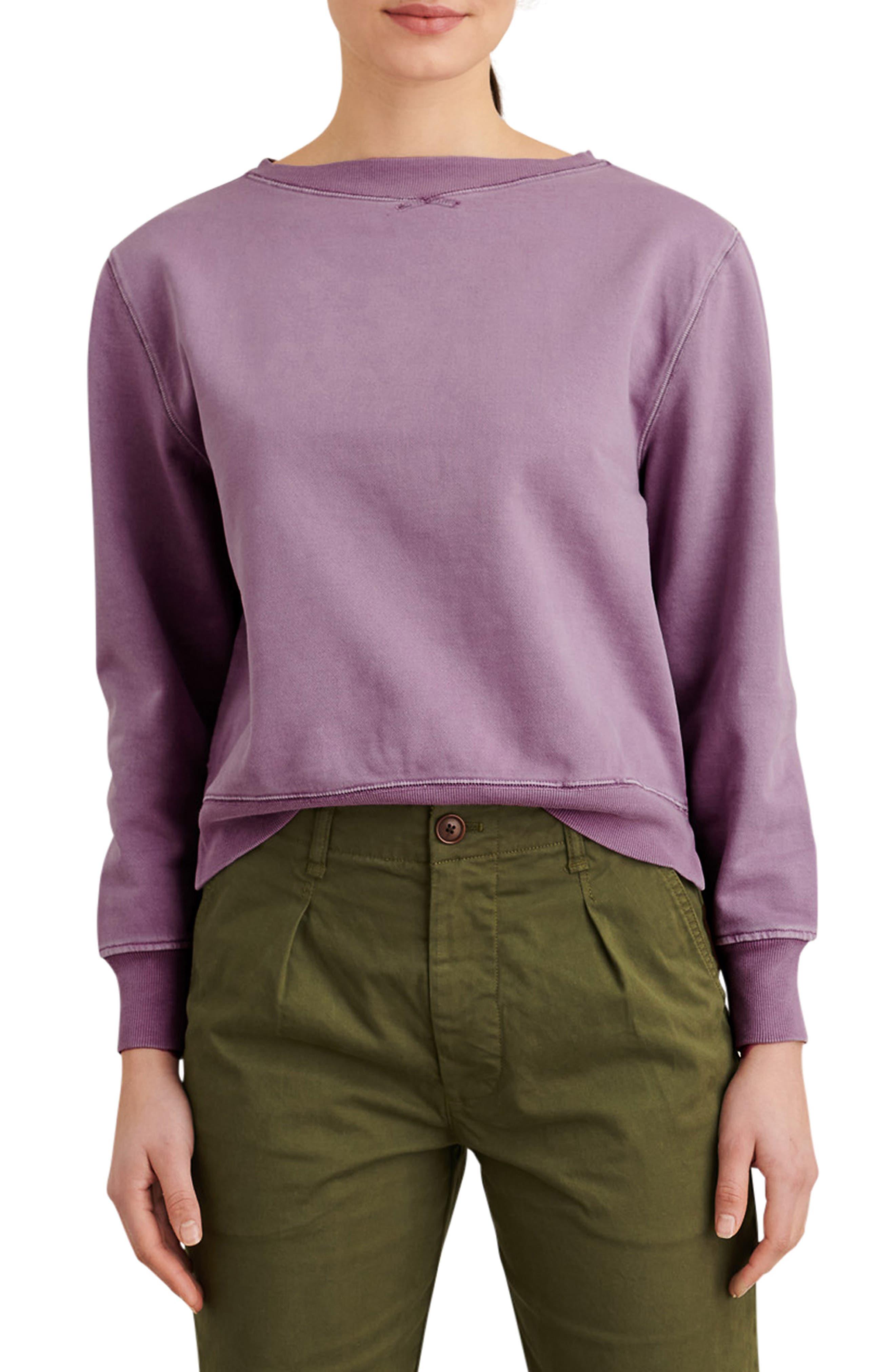 Lakeside Boatneck Sweatshirt