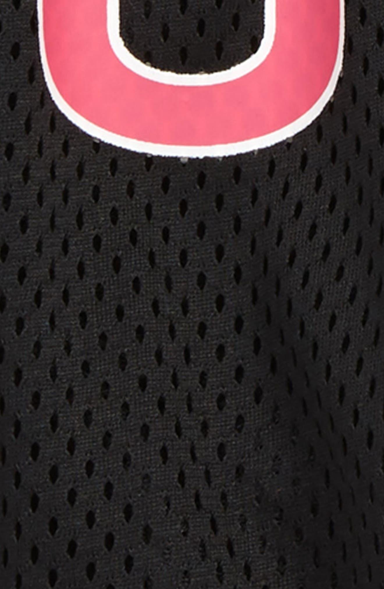 ,                             Logo Mesh Shorts,                             Alternate thumbnail 2, color,                             PUMA BLACK