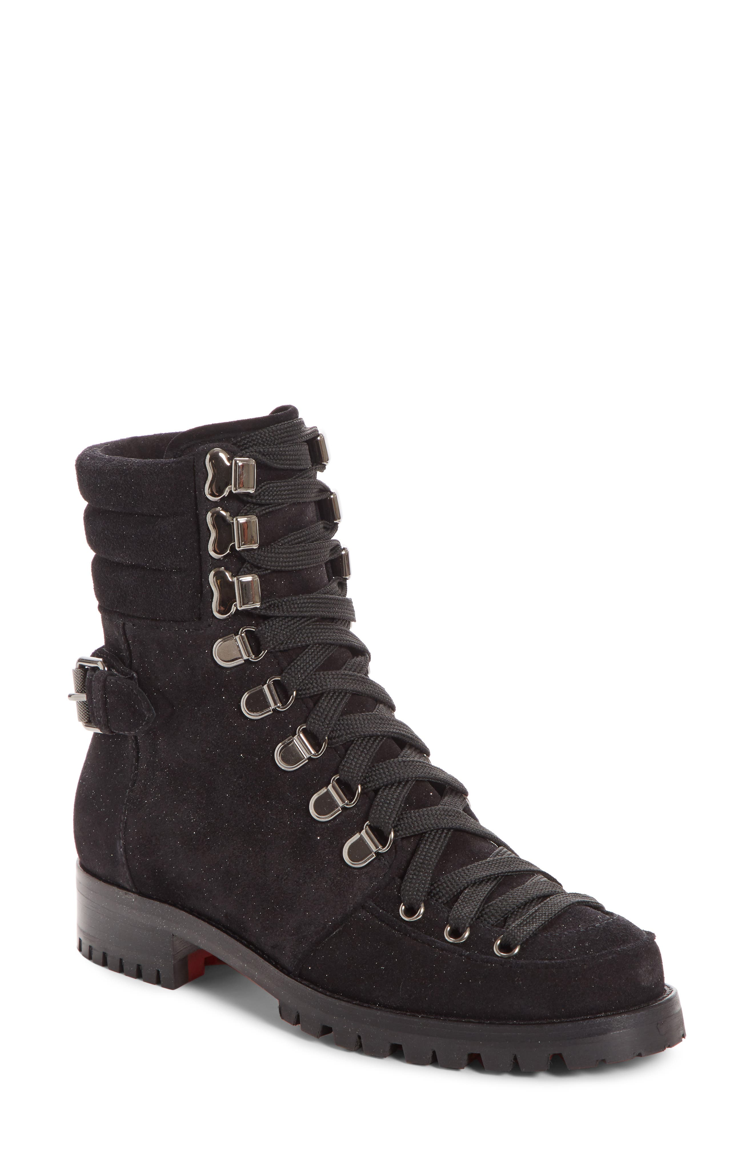 Christian Louboutin Who Runs Combat Boot