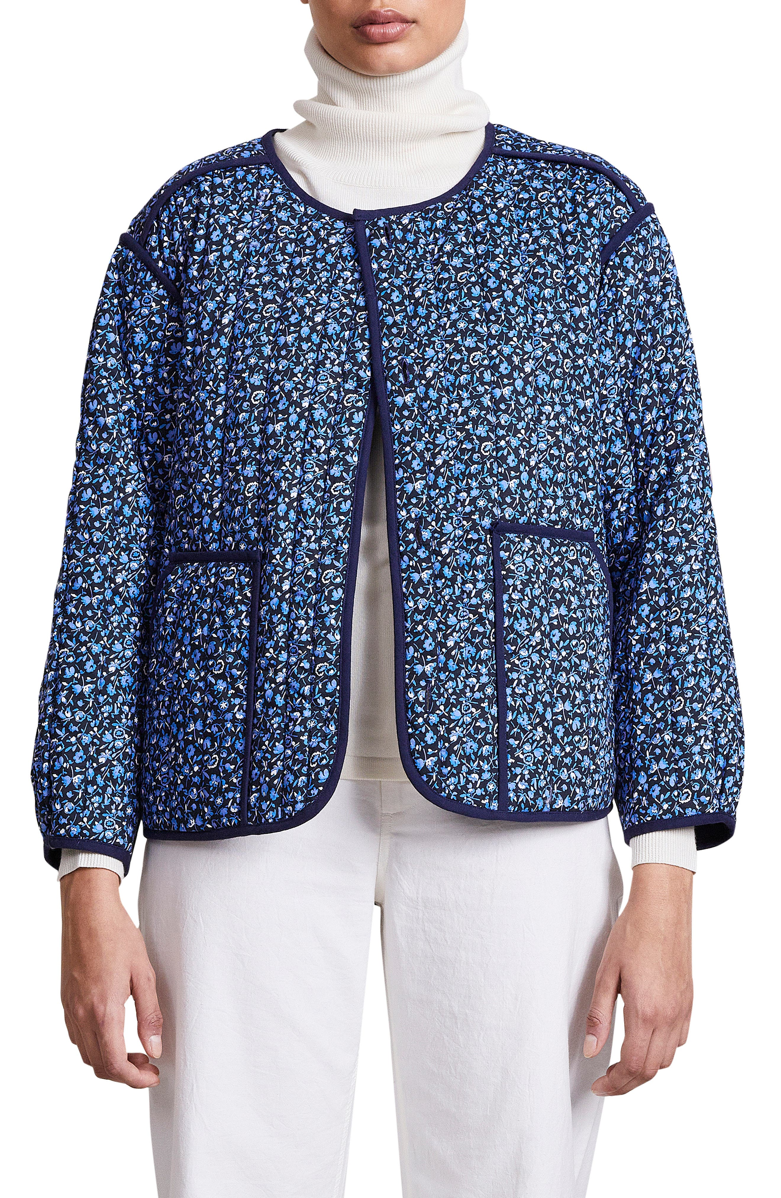Elodie Reversible Quilted Cotton Jacket