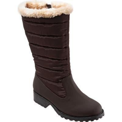 Trotters Benji Water Resistant Boot, Brown