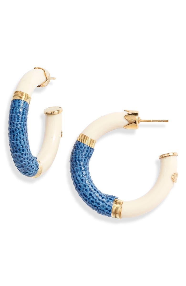 Comporta Hoop Earrings by Gas Bijoux
