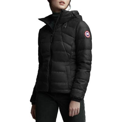 Canada Goose Abbott Packable Hooded 750 Fill Power Down Jacket, Black