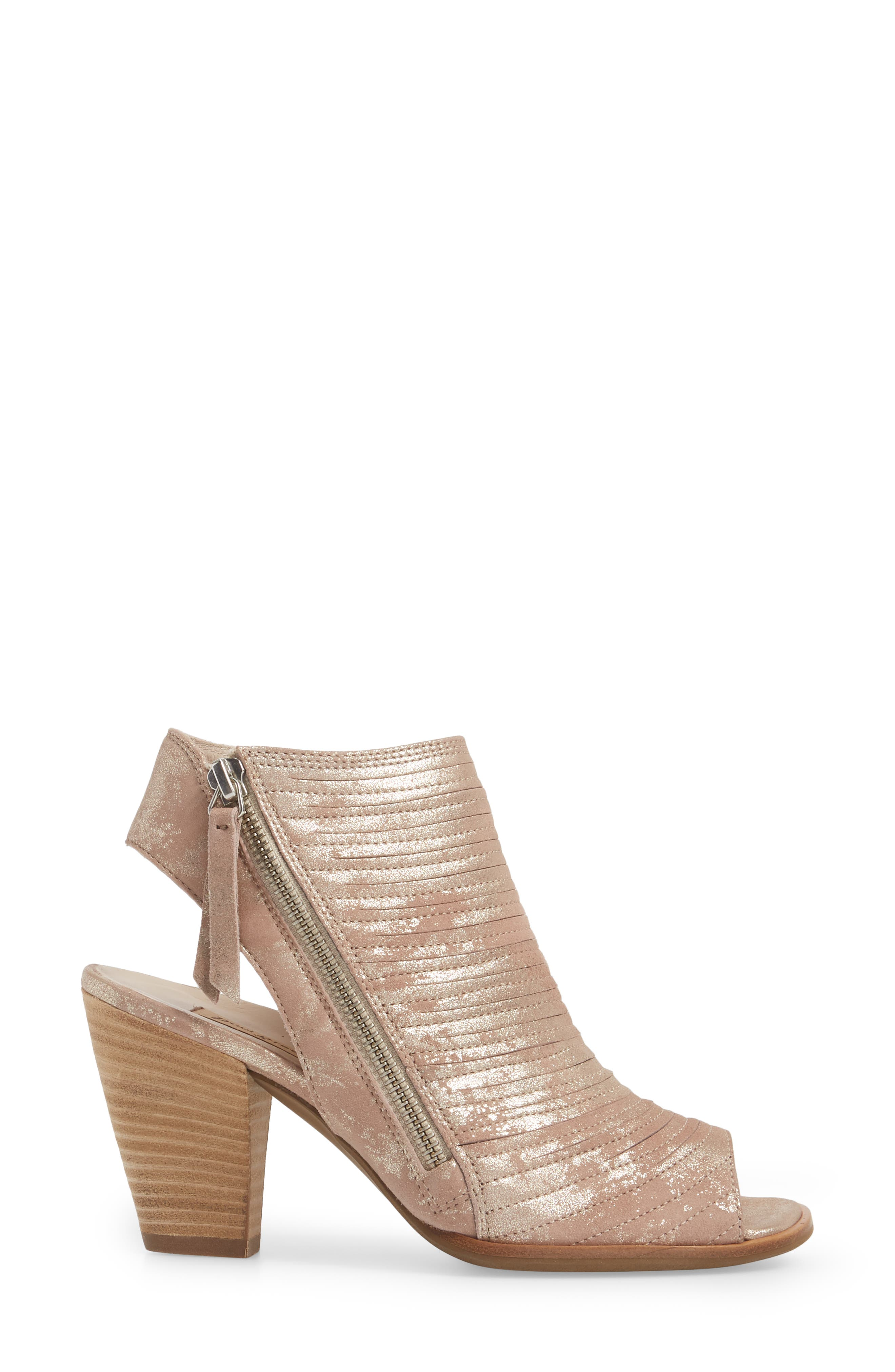 ,                             'Cayanne' Leather Peep Toe Sandal,                             Alternate thumbnail 34, color,                             688