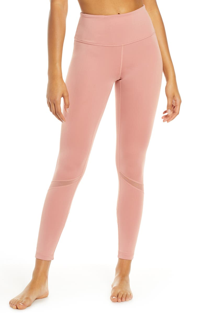 ZELLA Sunray High Waist Ankle Leggings, Main, color, 660