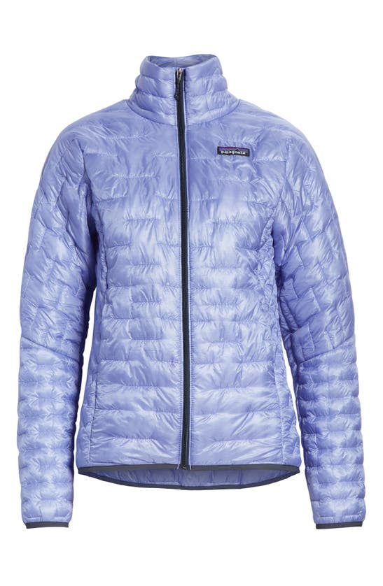Patagonia Micro Puff Jacket In Light Violet Blue