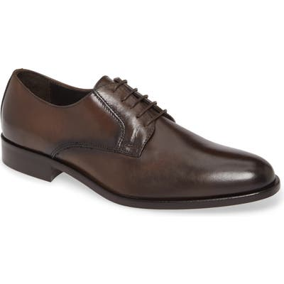 To Boot New York Ivins Plain Toe Derby- Brown
