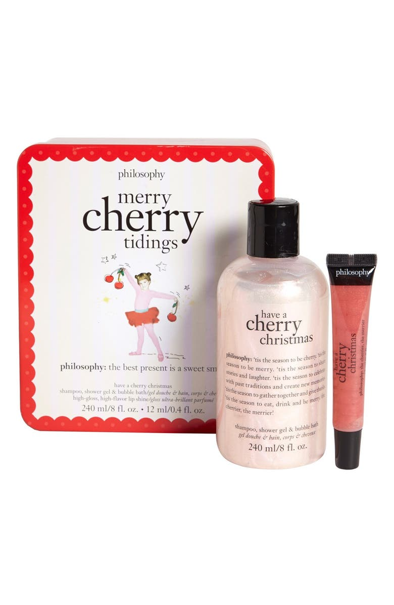 PHILOSOPHY 'merry cherry tidings' duo, Main, color, 000