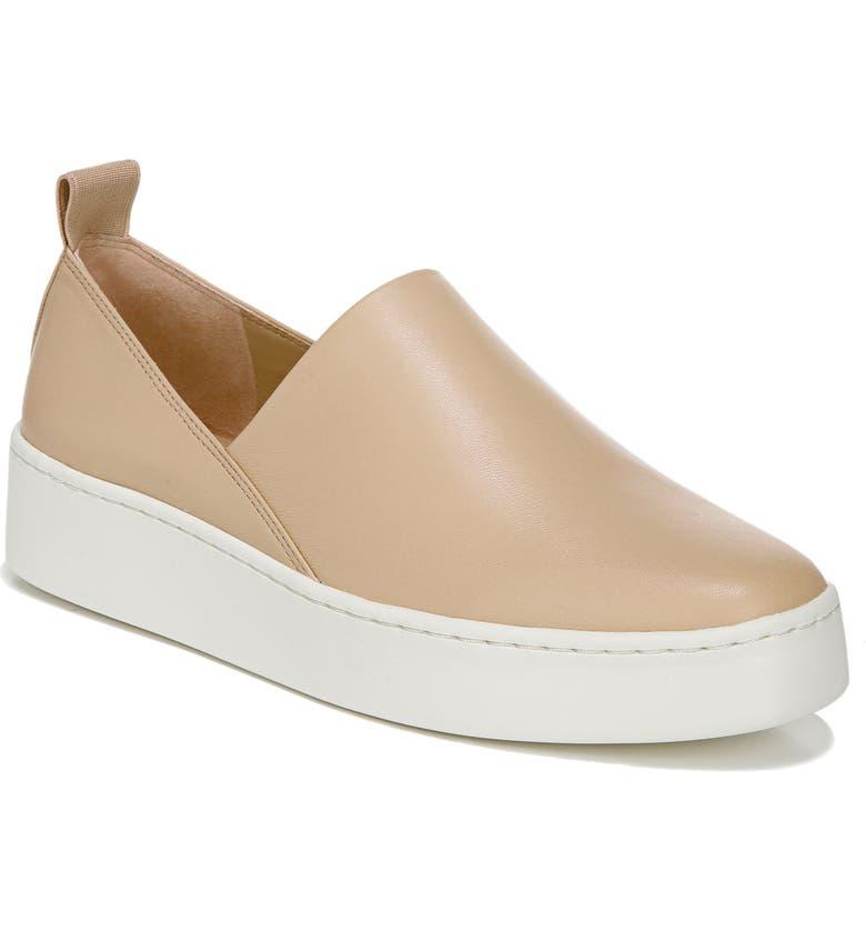 VINCE Saxon 2 Slip-On Sneaker, Main, color, WHEAT
