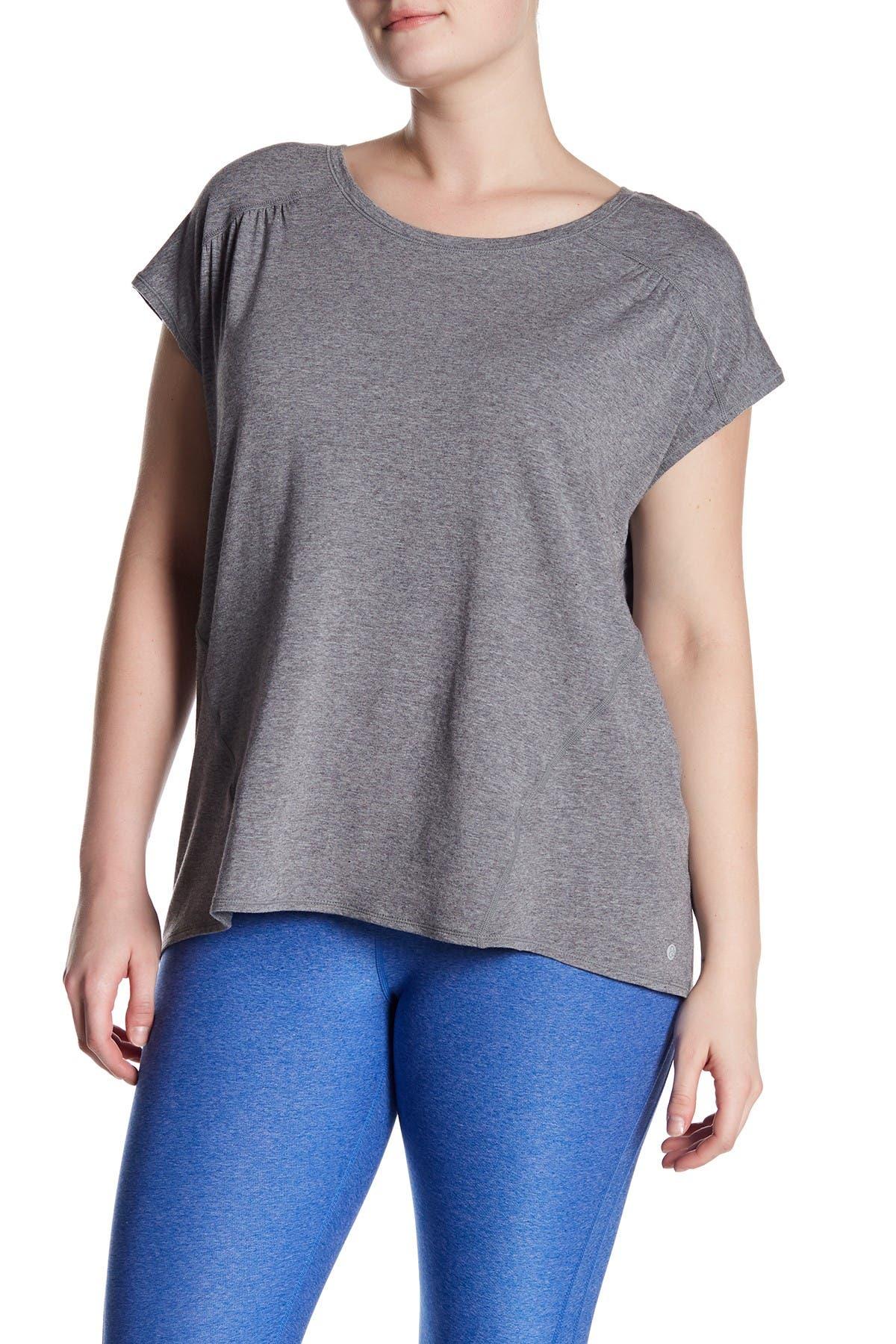 Image of Zella Cascade Scoop Neck T-Shirt
