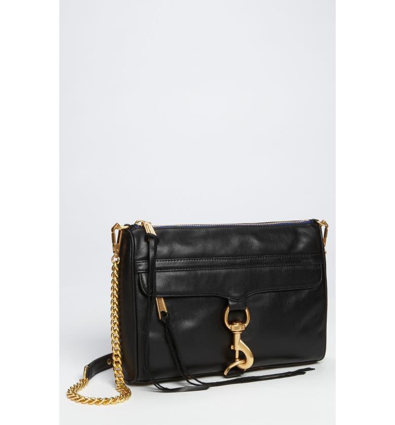 REBECCA MINKOFF 'MAC' Shoulder Bag, Main, color, 001