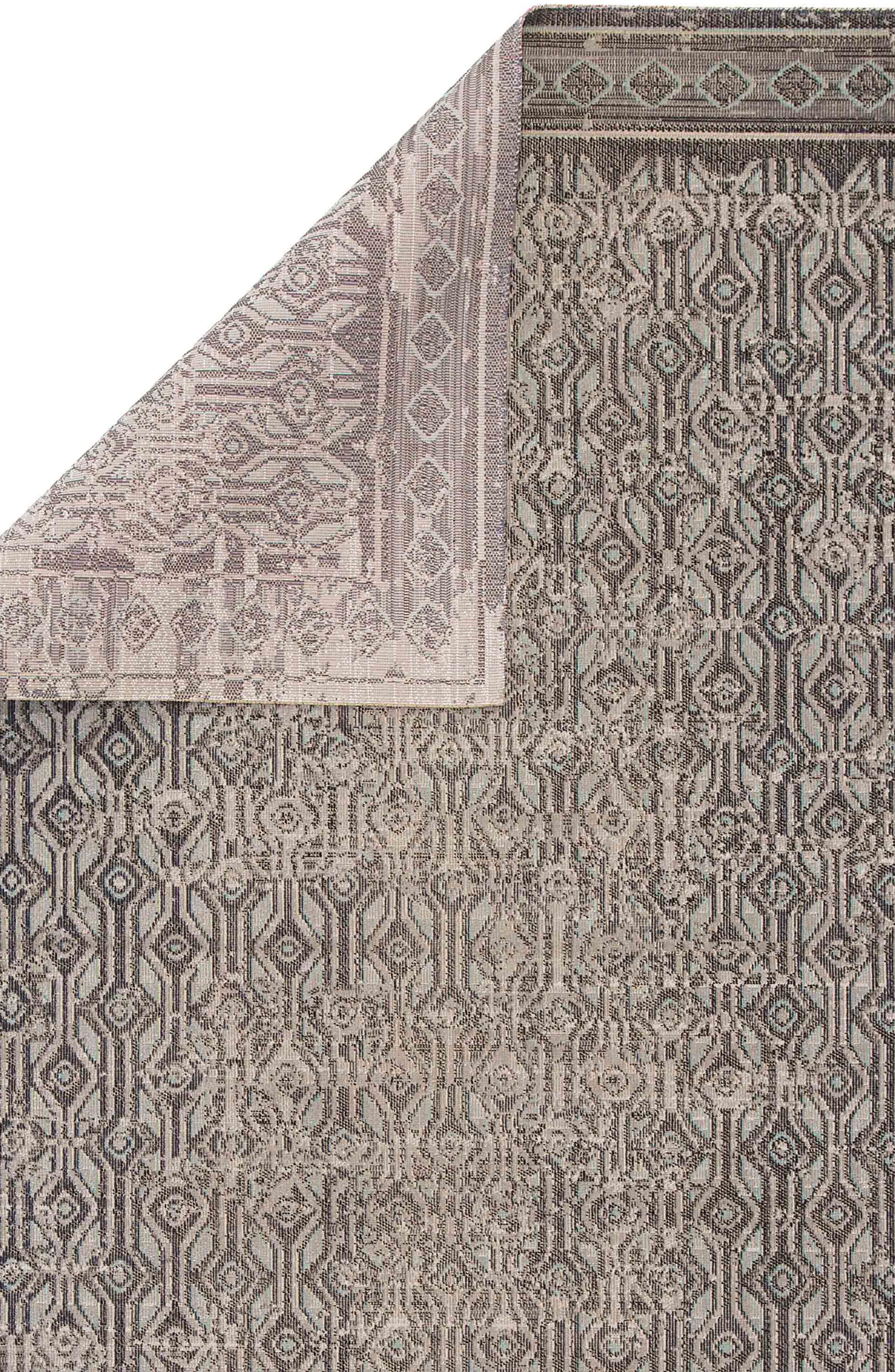 ,                             Mandy Area Rug,                             Alternate thumbnail 2, color,                             TAUPE BLACK