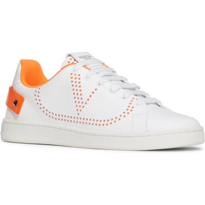 Valentino Vlogo Sneaker - White