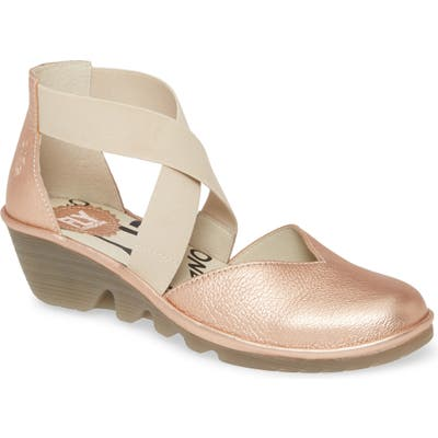 Fly London Paco Wedge, Pink