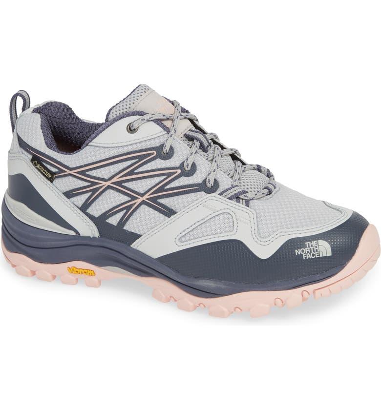 THE NORTH FACE Hedgehog Fastpack Gore-Tex<sup>®</sup> Waterproof Hiking Shoe, Main, color, MELD GREY/ PINK SALT