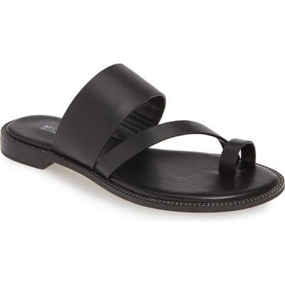 Michael Michael Kors Pratt Slide Sandal, Black