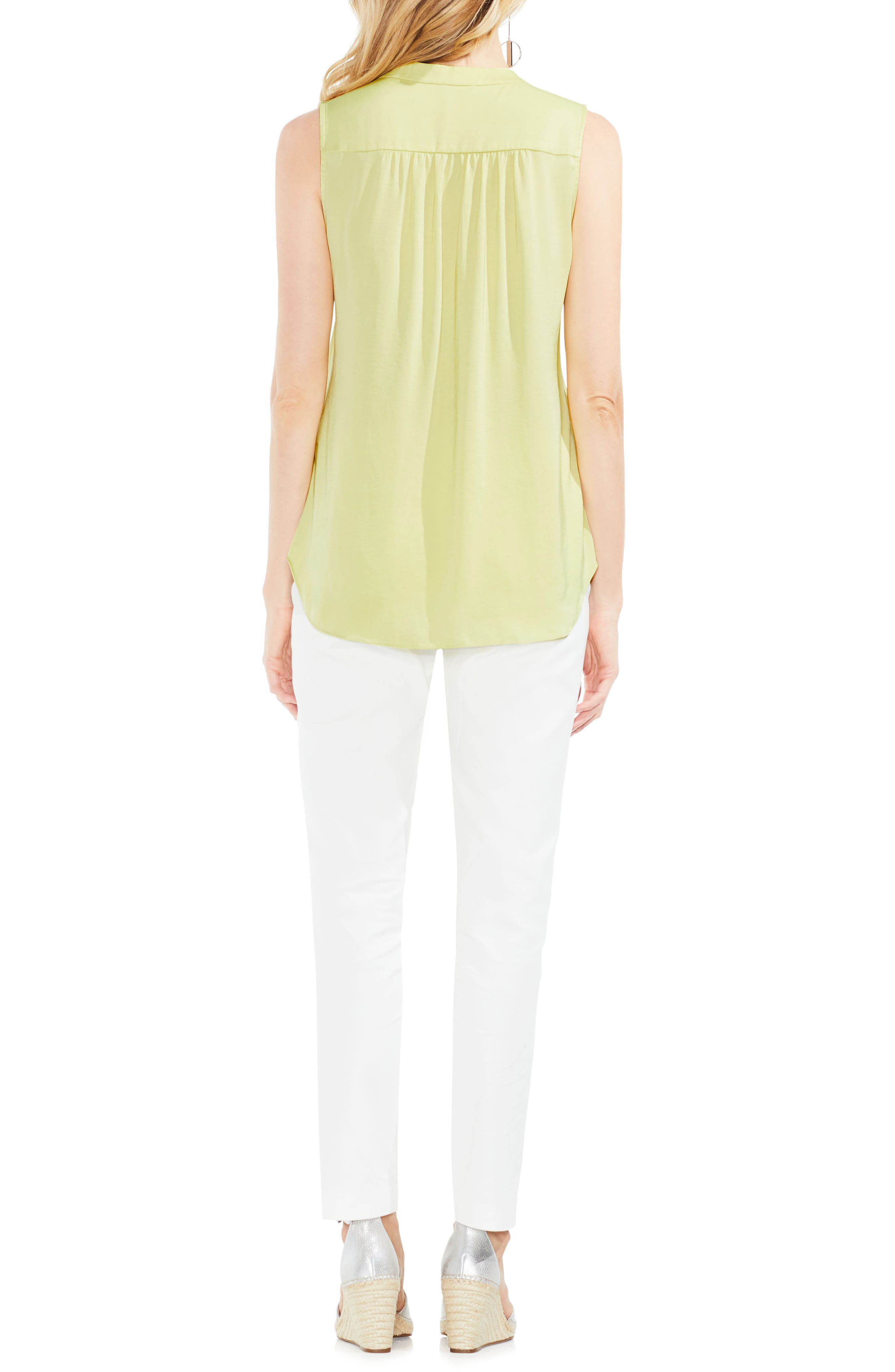 ,                             Rumpled Satin Blouse,                             Alternate thumbnail 156, color,                             398