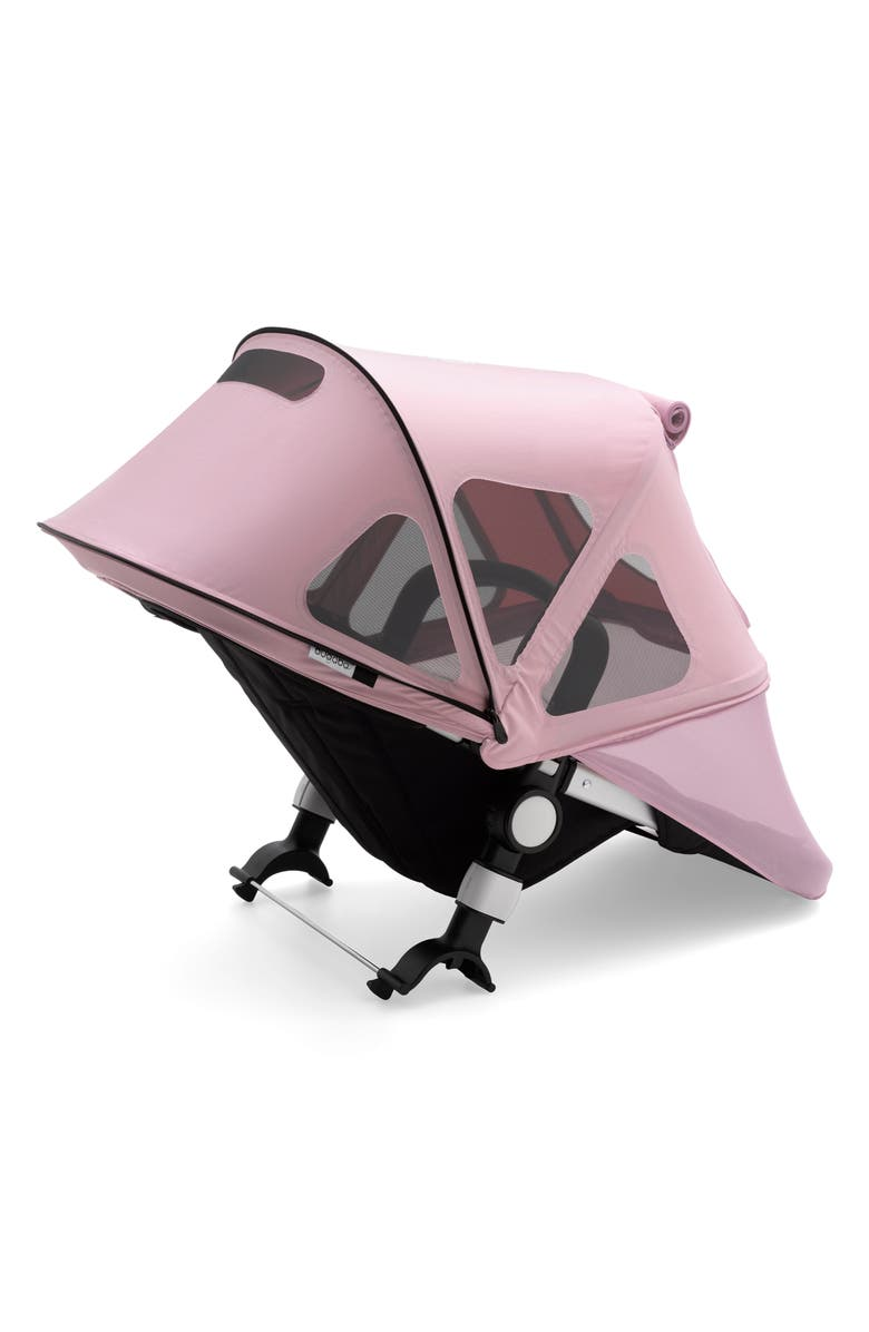 BUGABOO Breezy Sun Canopy for Fox & Cameleon³ Strollers, Main, color, SOFT PINK