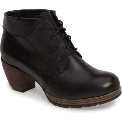 Wolky Jacquerie Lace-Up Bootie,10.5 - Black