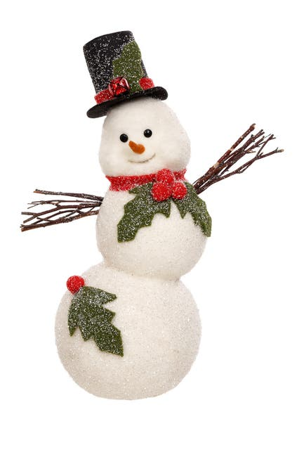 Image of Mark Roberts Hollyberry Snowman - Sm 19''