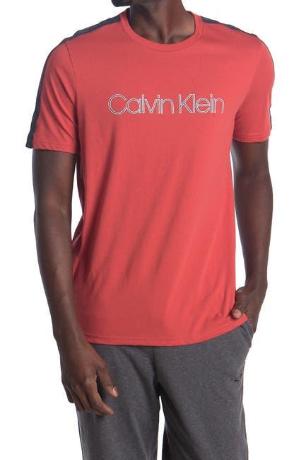 Image of Calvin Klein Crew Neck Logo Pajama T-Shirt