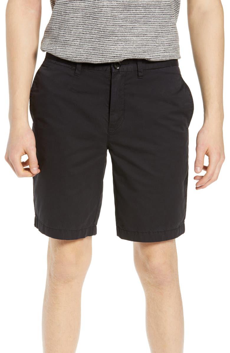 LIFE/AFTER/DENIM Luna Shorts, Main, color, BLACK