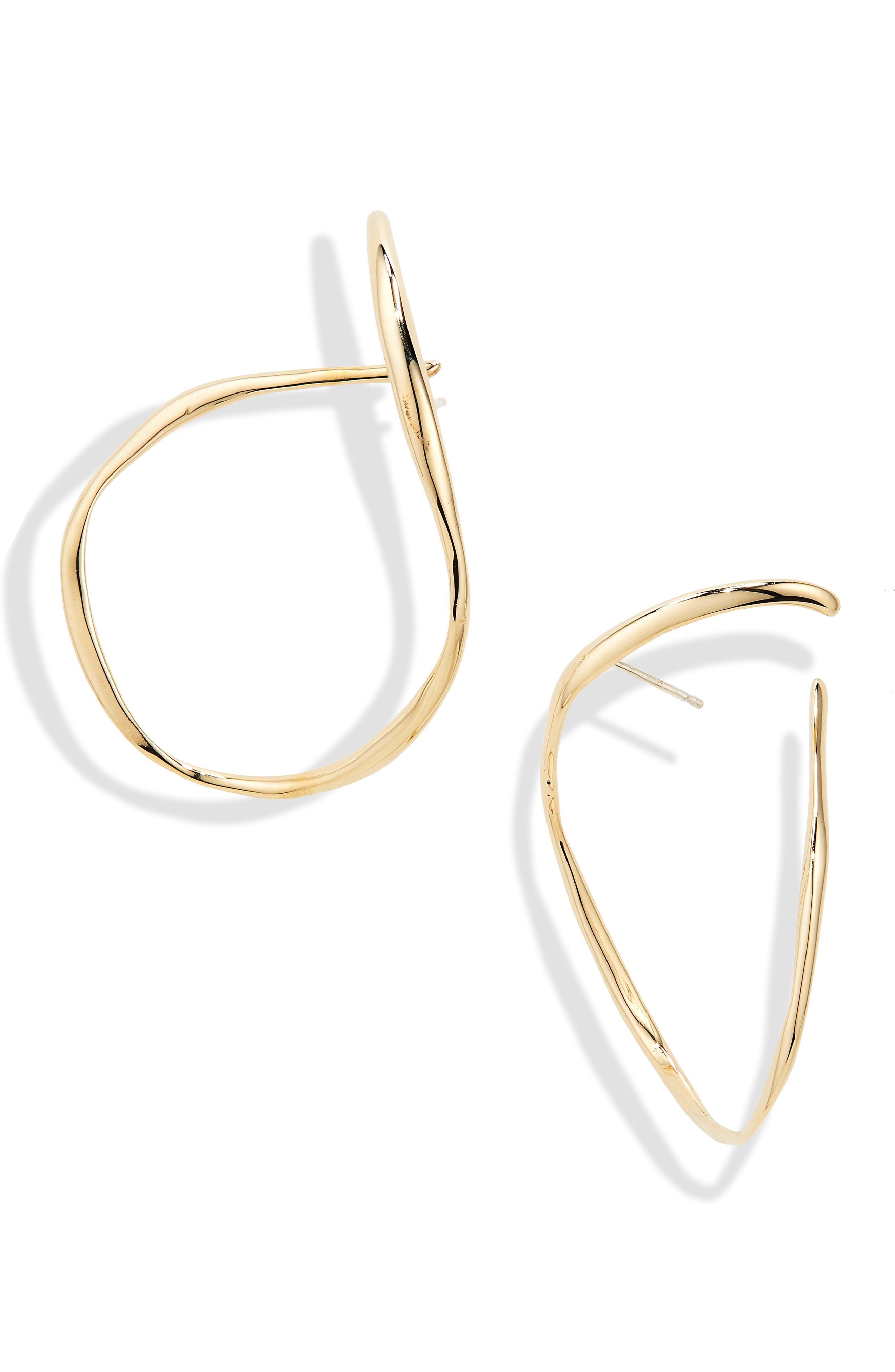 Slink Hoop Earrings