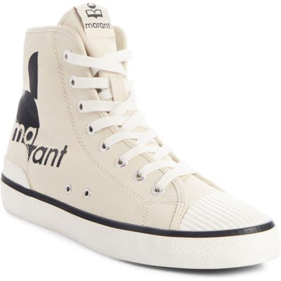 Isabel Marant Benkeen High Top Sneaker, Beige