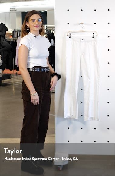 Crop Flare Denim Pants, sales video thumbnail