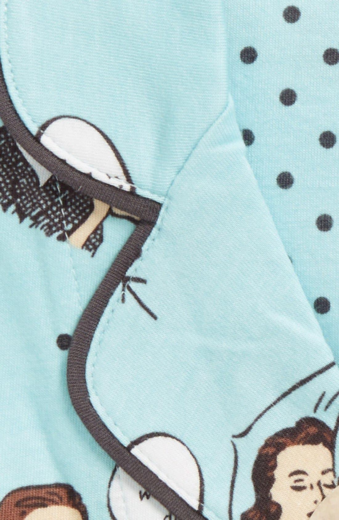 ,                             Print Jersey Pajamas,                             Alternate thumbnail 30, color,                             440