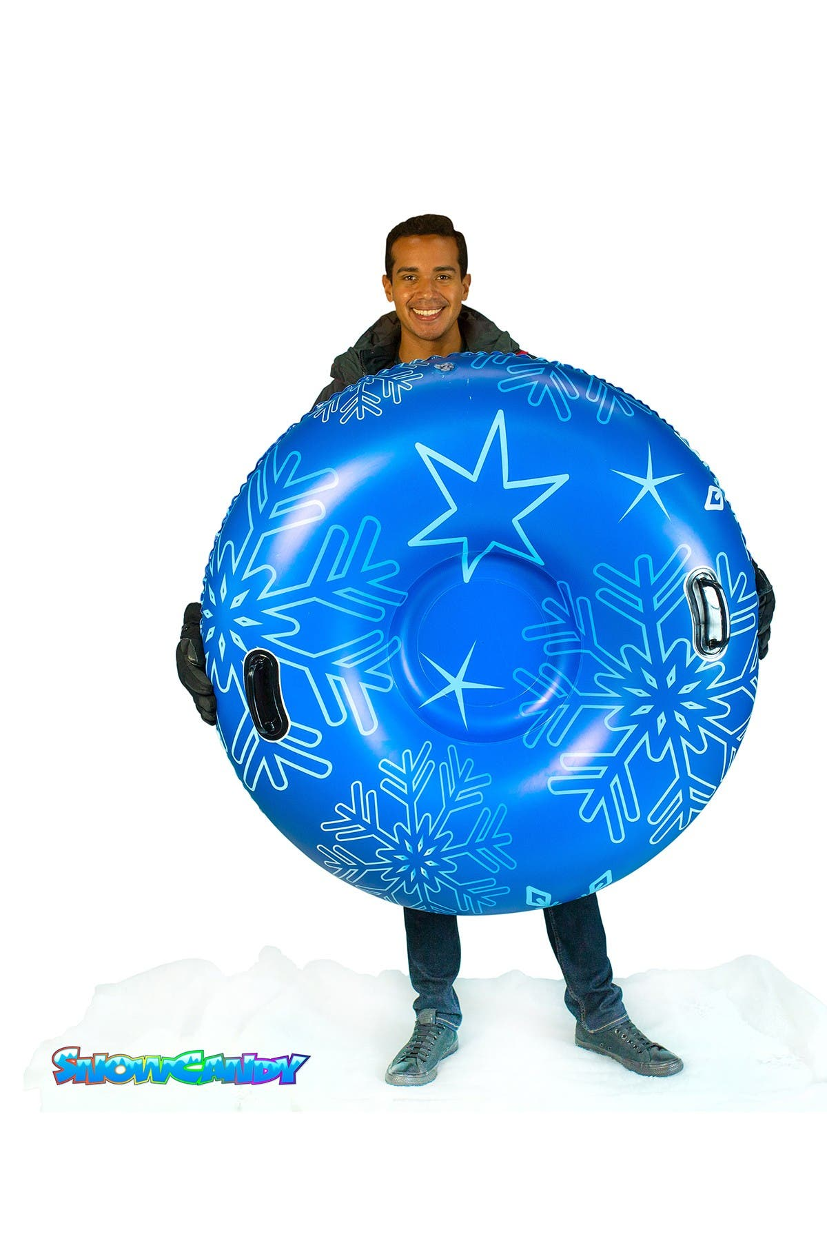 """Image of POOLCANDY SnowCandy Pro Edition Deluxe 48"""" Snow Tube"""