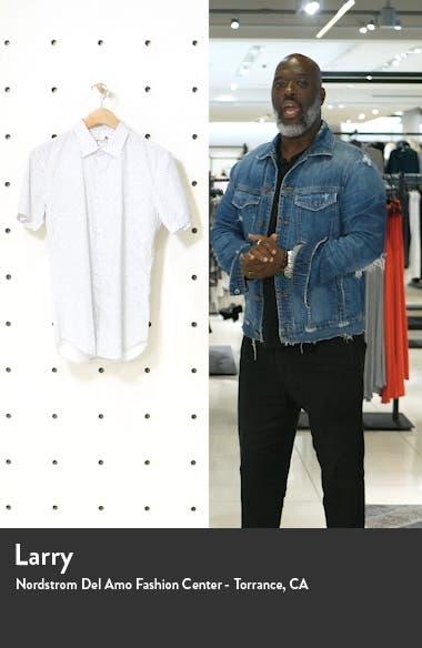 Slim Fit Short Sleeve Button-Up Shirt, sales video thumbnail