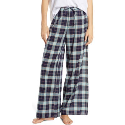 Bp. Faye Wide Leg Pajama Pants, Blue