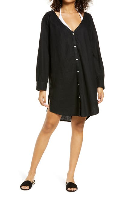 Image of Chelsea28 Button-Up Cover Up