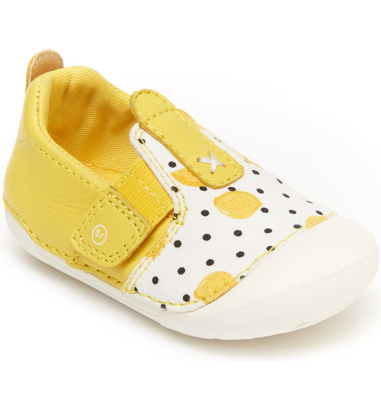 STRIDE RITE Soft Motion<sup>™</sup> Atlas Sneaker, Main, color, LEMON YELLOW