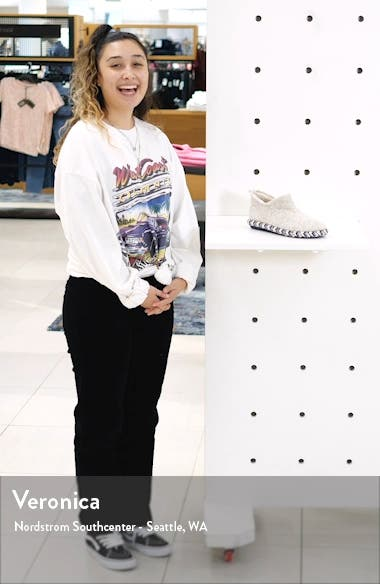 Maia Faux Fur Lined Scuff Slipper, sales video thumbnail