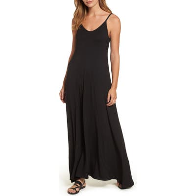 Petite Loveappella Knit Maxi Dress, Black