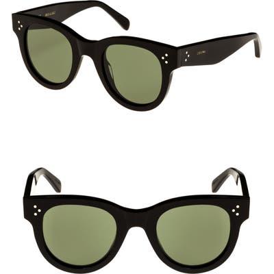 Celine Mineral 4m Cat Eye Sunglasses - Black/ Smoke Barberini