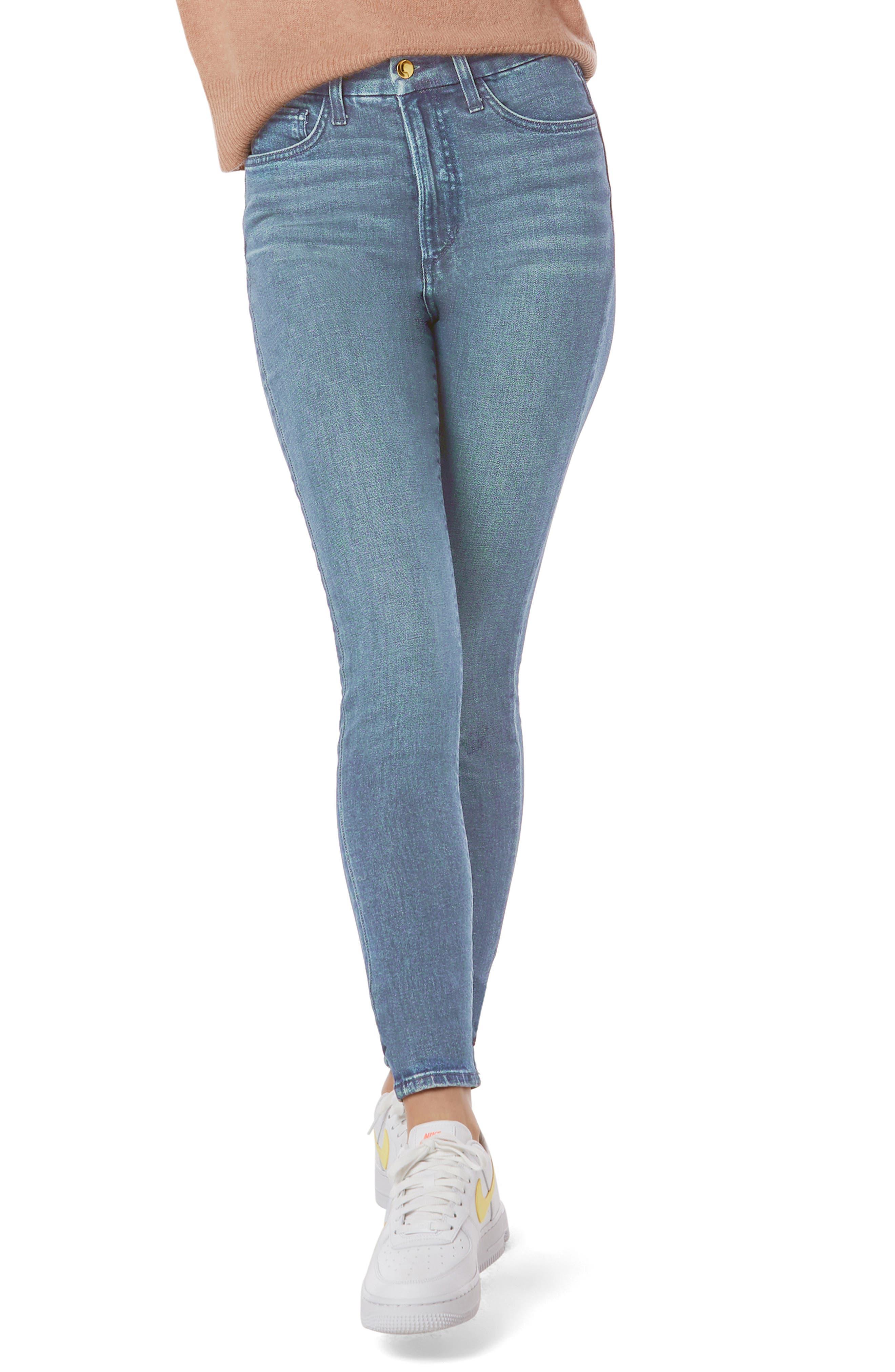 The Sara High Waist Skinny Jeans