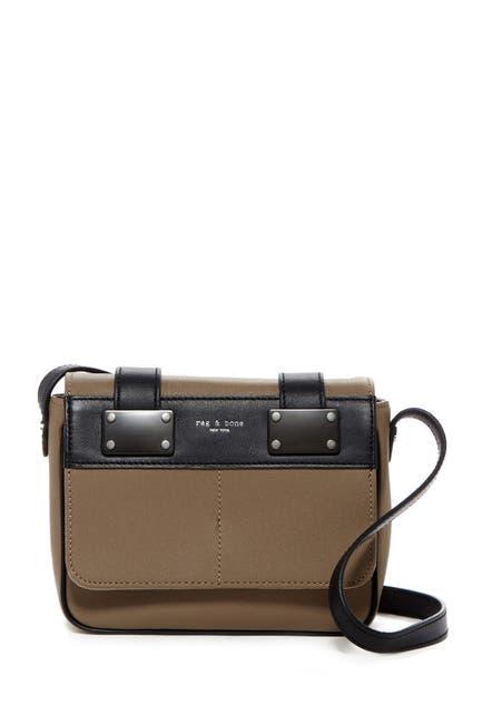 Image of Rag & Bone Mini Pilot Leather Crossbody Bag