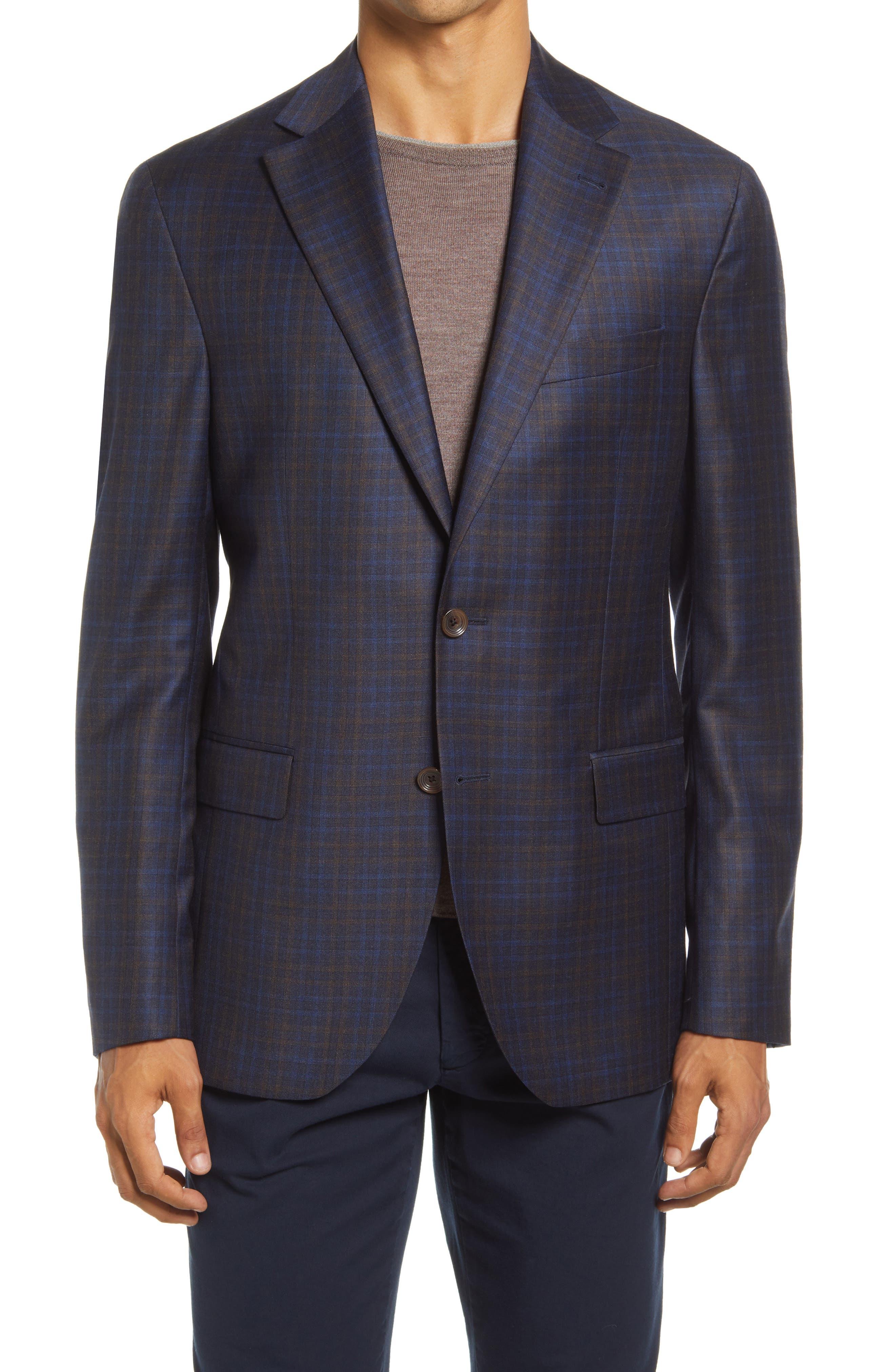 Midland Plaid Wool Sport Coat