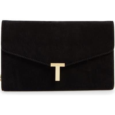 Ted Baker London Jakiee T Clutch Bag - Black