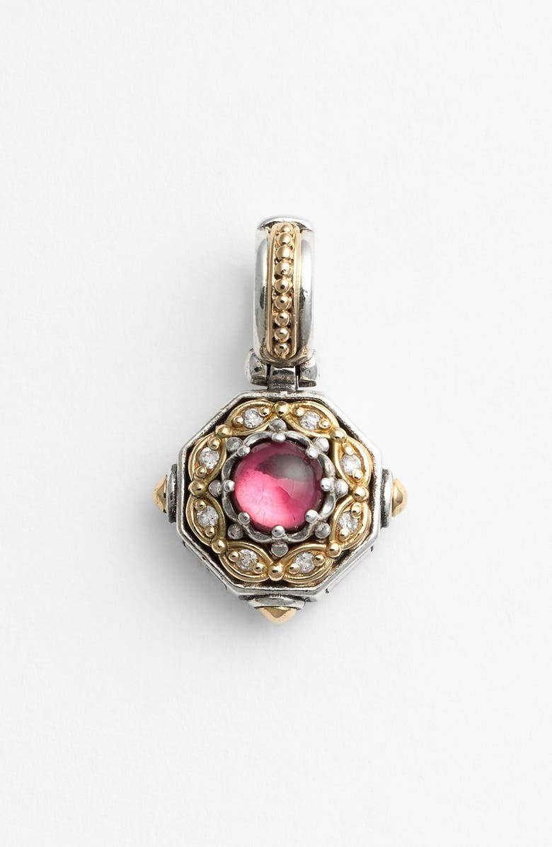 KONSTANTINO 'Hermione' Stone & Diamond Pendant, Main, color, 040