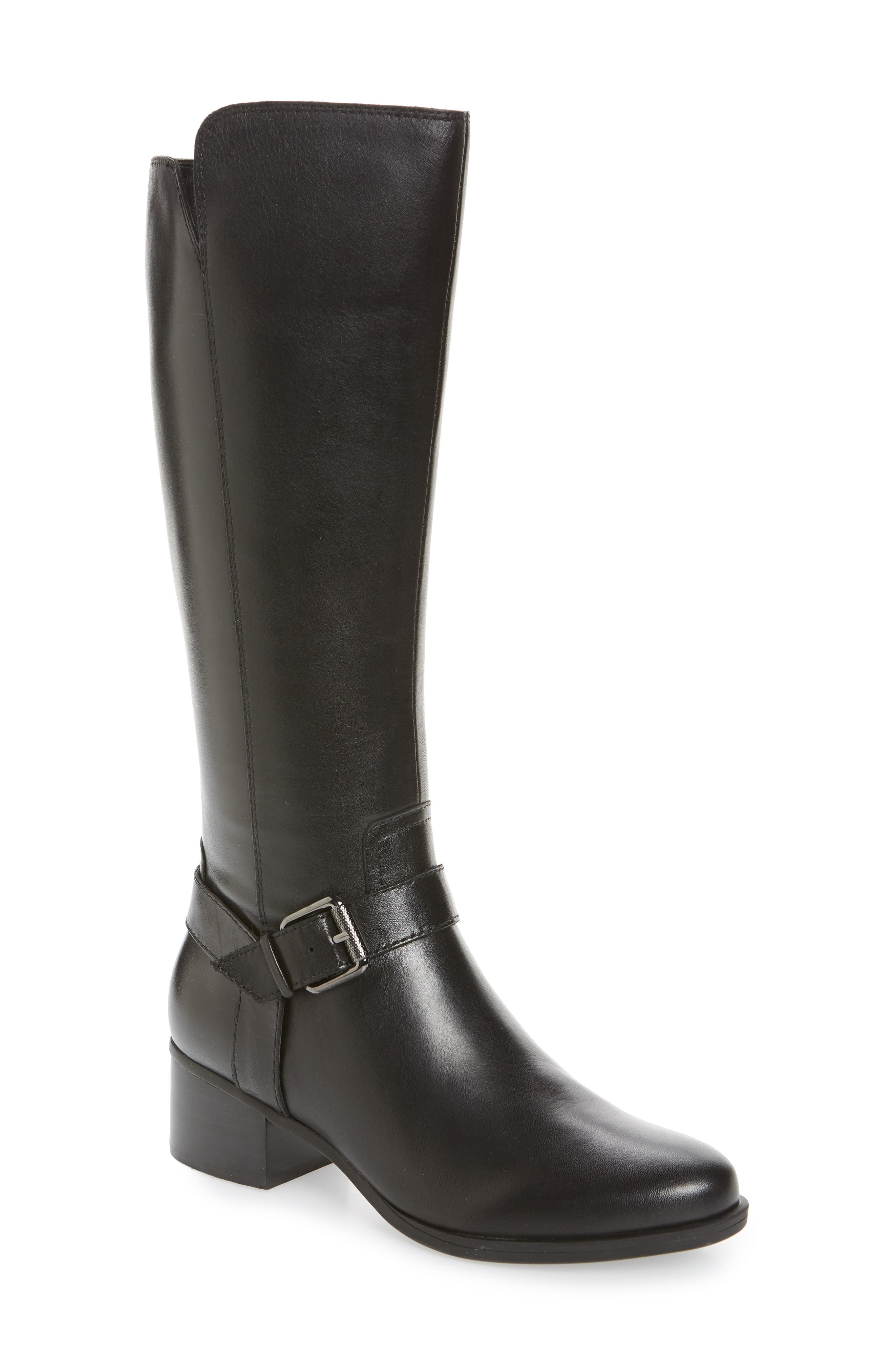 Naturalizer Dalton Tall Boot (Women) (Regular & Wide Calf)