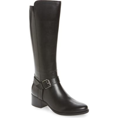 Naturalizer Dalton Tall Boot Wide Calf- Black