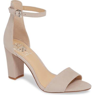 Vince Camuto Corlina Ankle Strap Sandal- Beige (Nordstrom Exclusive)