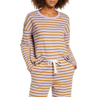 Madewell Pajama Sweatshirt, Purple